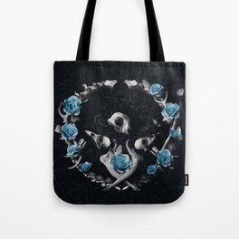 Bones are Blue Tote Bag