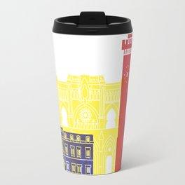 Cuenca skyline pop Travel Mug