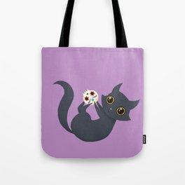 Kitty sugar skull Tote Bag