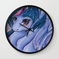 mlp Wall Clocks featuring Twilight Princess MLP by Ashenee