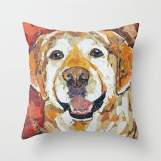 Payton The Great Throw Pillow