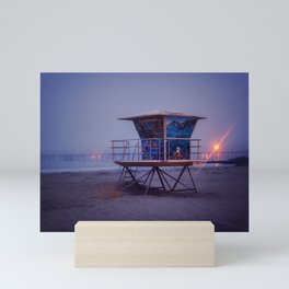 The Blue Hour at Avila Beach Mini Art Print