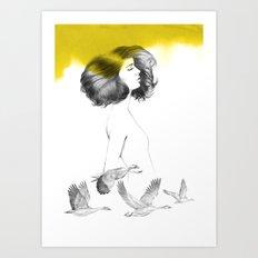 Cècile Art Print
