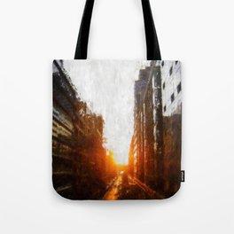 Manhattanhenge Tote Bag