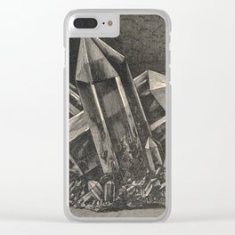Antiquarian Crystals Clear iPhone Case