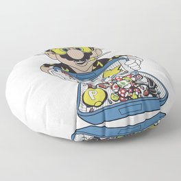 Mario - Fear And Loathing In Las Vegas Floor Pillow