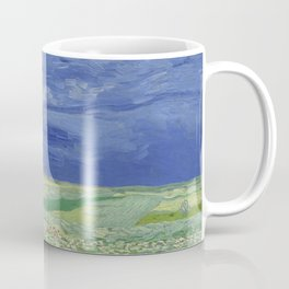 Wheatfield under Thunderclouds Coffee Mug