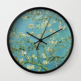 Almond Blossom by Vincent Van Gogh (1890) Wall Clock