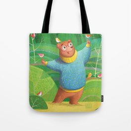 Bear and Friends Tote Bag