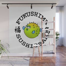 Sushi Bar (White/Black) Wall Mural