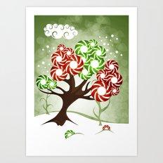 Magic Candy Tree - V2 Art Print