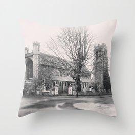 All Saints Church in Ealing Throw Pillow