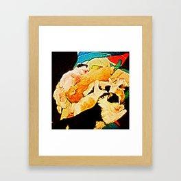 Kitties Painting Framed Art Print
