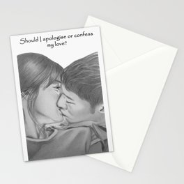 Descendant of the sun Stationery Cards