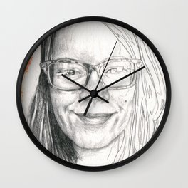 Katharine - People I Know Wall Clock