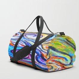 Sur ma boite en bois de pastels Duffle Bag