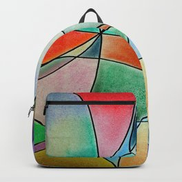 Pastel Abstract 1 Backpack