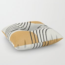 Sun Arch Double - Gold Floor Pillow