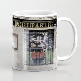 A Street in Paris - oil filter Coffee Mug