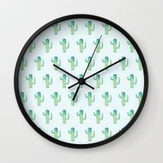 Summer in the Desert II Wall Clock