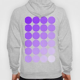 Violet Circle Color Chart Hoody