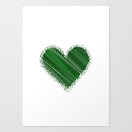 Earthy Love Art Print