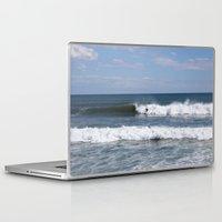 surfer Laptop & iPad Skins featuring Surfer by moonstarsunnj