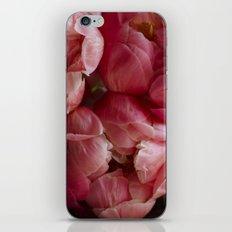 coral peonies iPhone & iPod Skin