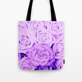 Some people grumble - Floral Ultra Violet Rose Roses Flowers Tote Bag