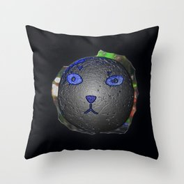Cat Ball Throw Pillow
