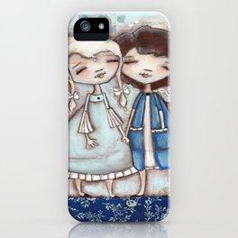 When I Am Blue - by Diane Duda iPhone Case