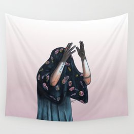 Floral Ghost Wall Tapestry