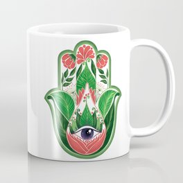 tropical hamsa Coffee Mug