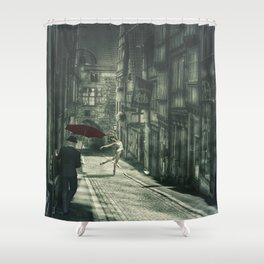 Mysterious Night Shower Curtain
