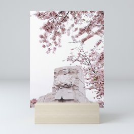 Cherry Blossoms - Martin Luther King Monument Mini Art Print
