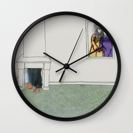 The Monster Series (3/8) Wall Clock