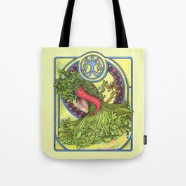Art nouveau. Spices and vegetables Tote Bag