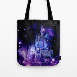 Celestial Palace : Purple Blue Enchanted Castle Tote Bag