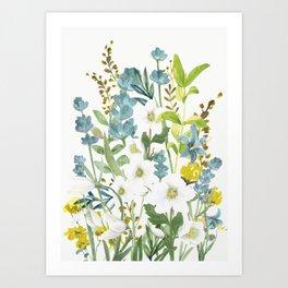 Wildflowers VI Art Print