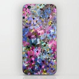 Little Blue Delphiniums iPhone Skin