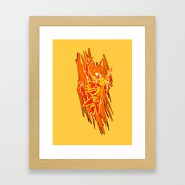 TMNT Rock: Mikey Framed Art Print