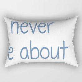 Dogs Never Lie About Love Rectangular Pillow