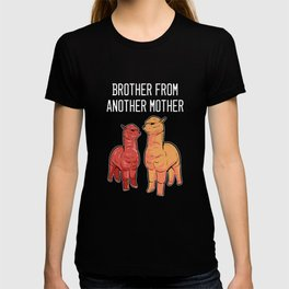 Alpaca Brother Big Or Baby Brother Gift T-shirt