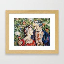 Mery christmas Framed Art Print