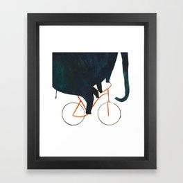 Reason TWO for using bike: Framed Art Print