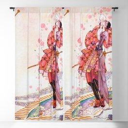 12,000pixel-500dpi - Kay Nielsen - Prince Souci And Princess Mignon Minette On The Fan Blackout Curtain