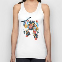 metal Tank Tops featuring Death Metal by Brian Walline