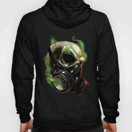 Skull/Gas mask 12 Hoody