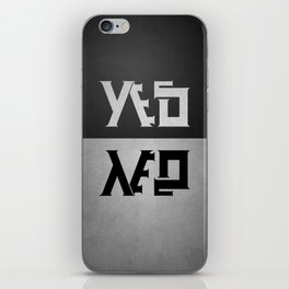 yes or no iPhone Skin