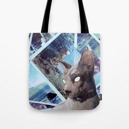 Nude Cat Tote Bag